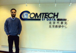 Comtech EF Data Training Beijing